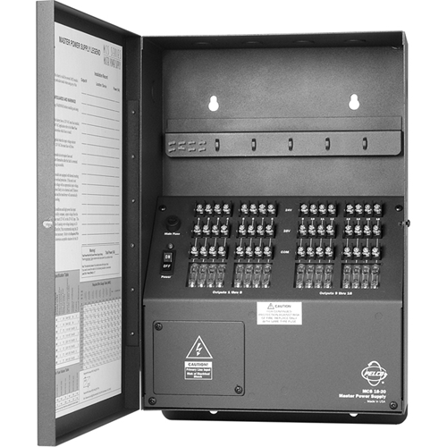PELCO MCS MCS16-20SB AC Power Supply
