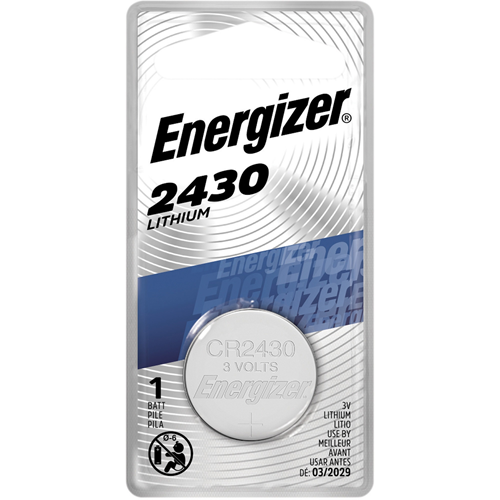 Energizer 2430 Lithium Coin Battery, 1 Pack