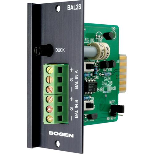 Bogen BAL2S Balanced Input Module