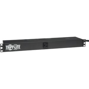 Tripp Lite PDU Single Phase Basic 120V Outlets 13 5-15R 5-15P 15ft cord 1U RM