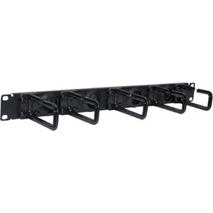 Tripp Lite Rack Enclosure Cabinet Horizontal Cable Ring Flexible 1URM