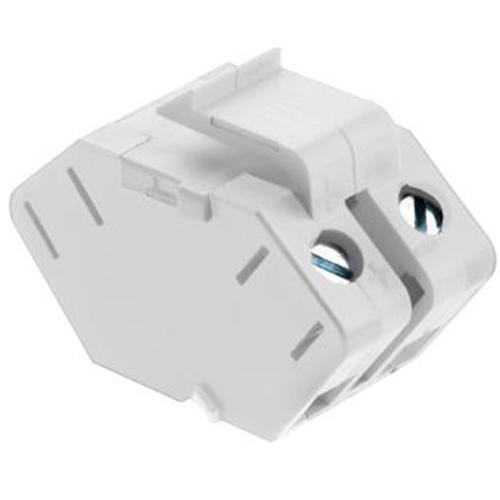 Legrand-On-Q Single Keystone Speaker Insert, White