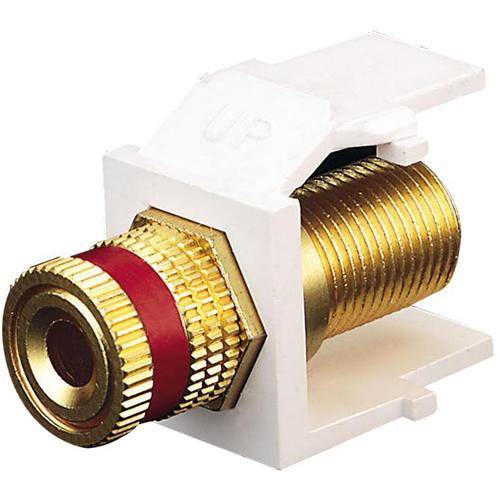 Leviton QuickPort Binding Post Adapter