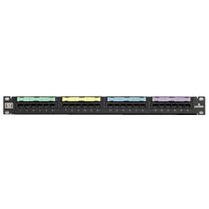 Leviton GigaMax 24 Port Cat5e Network Patch Panel