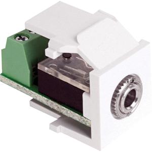 Leviton QuickPort 40839-SWS Audio Connector