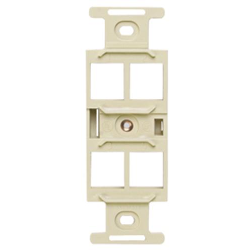 Leviton QuickPort 4-Socket Insert