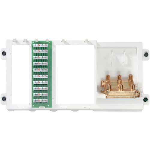 Leviton 47606-BTV Video/Phone Patch Panel