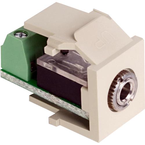 Leviton QuickPort Audio Connector