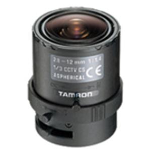 Tamron 13VG2812ASII-SQ Aspherical DC Iris Zoom Lens