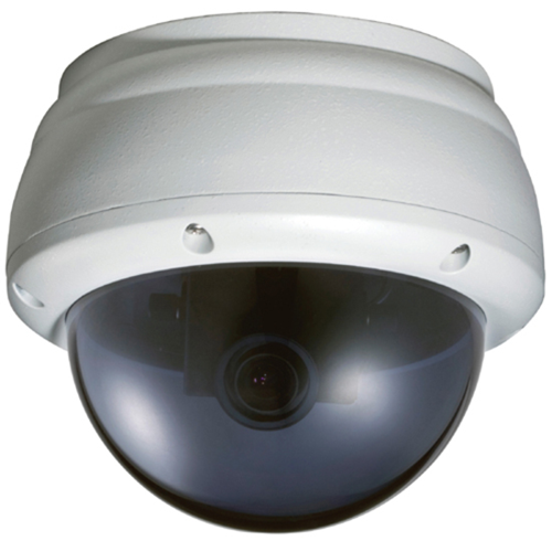 Speco InProTPD3 Weatherproof/Tamperproof IP Dome Camera - Ivory