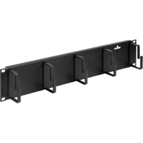 Leviton 49253-2CM Five-Ring Horizontal Patch Cord Organizer