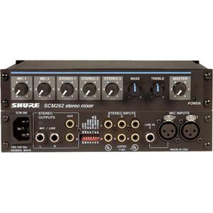 Shure SCM262 Stereo Audio Mixer