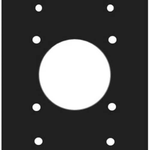 Middle Atlantic Punchout Panel