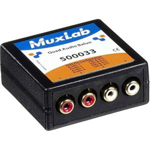 MuxLab Quad Audio Balun