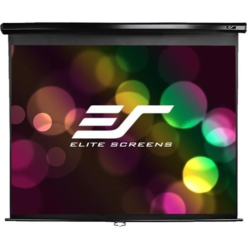 "Elite Screens Manual M109UWX 109"" Manual Projection Screen"