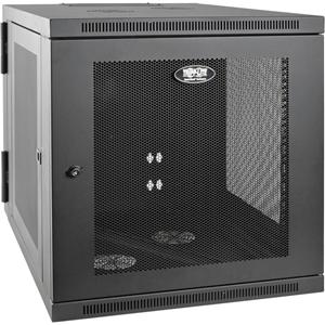 "Tripp Lite 12U Wall Mount Rack Enclosure Server Cabinet Hinged 33"" Extended Depth"