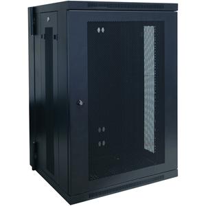 Tripp Lite 18U Wall Mount Rack Enclosure Server Cabinet Hinged w/ Door & Sides