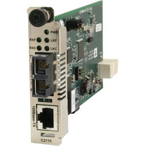 Transition Networks C2210-1013 Fast Ethernet Media Converter