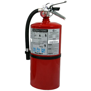 Jarden 4-A:60-B:C Rechargeable Commercial Fire Extinguisher
