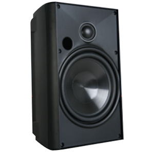 Proficient Audio AW400 2-way Speaker - 100 W RMS - Black