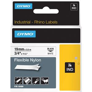 Dymo Rhino Flexible Nylon Labels