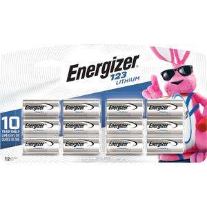 Energizer 123 Batteries, 12 Pack