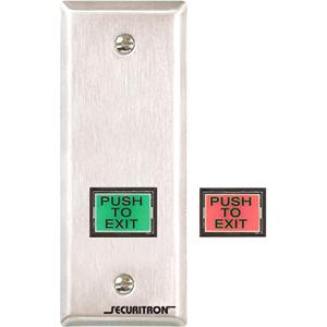 Securitron EEB3N Push Button