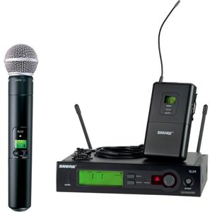 Shure SLX124/85/SM58 Wireless System