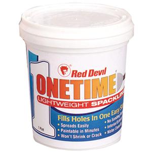 Red Devil Onetime 0548 Spackling