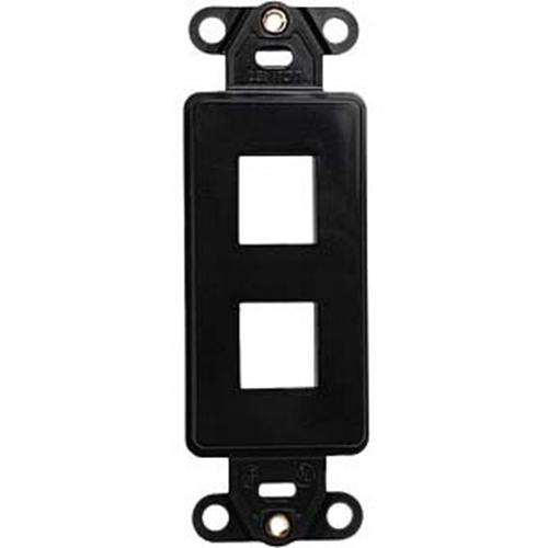 Leviton 41642-00E 2 Sockets Decora Style Faceplate Insert