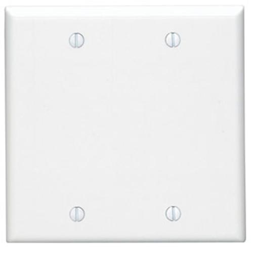 Leviton 88025-000 Dual Gang Blank Faceplate