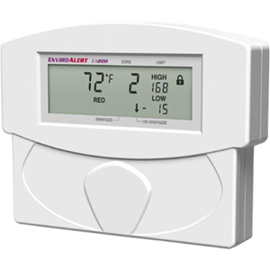Winland EnviroAlert EA400-12 Four Zone Digital Environmental Monitoring Alarm