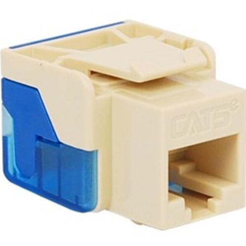 ICC Cat 5e, EZ, Modular Connector, Almond