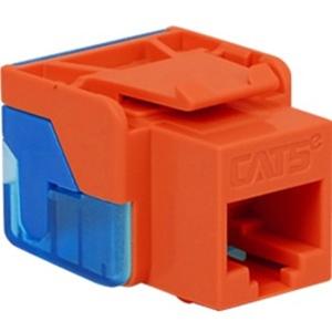 ICC Cat 5e, EZ, Modular Connector, Orange