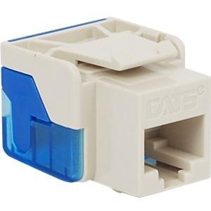 ICC Cat 5e, EZ, Modular Connector, White