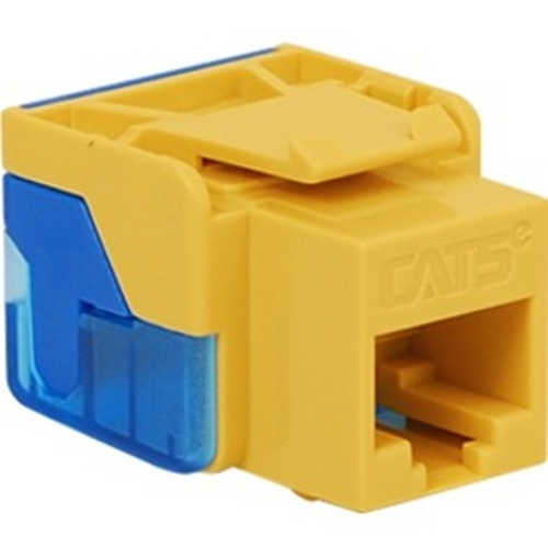 ICC Cat 5e, EZ, Modular Connector, Yellow