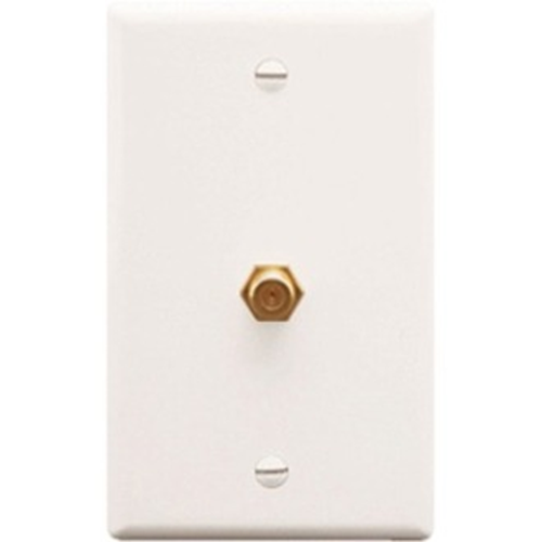 ICC IC630EG0WH Coaxial Faceplate