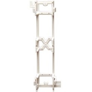 ICC ICMB89D0WH Mounting Bracket for Patch Panel - White
