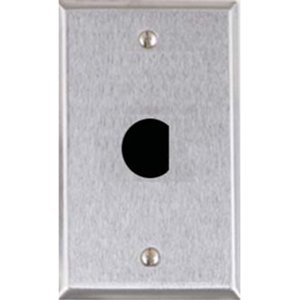Alarm Controls RP-20 Single Gang Faceplate