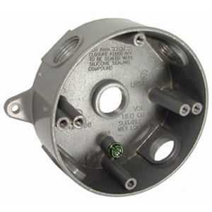 Hubbell 5361-5 Round Splice Mounting Box