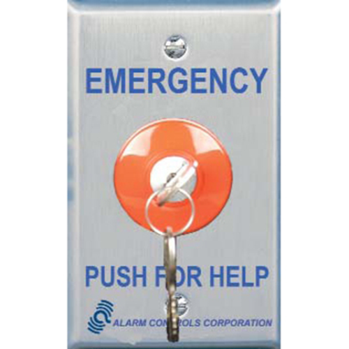 Alarm Controls KR-1-GR Push Button