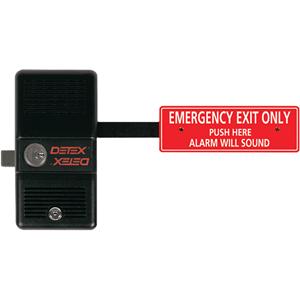 Detex ECL-230D Push Bar With Lock
