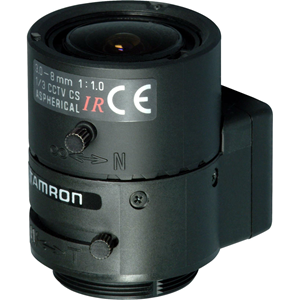 Tamron 13VG308ASIRII - 3 mm to 8 mm - f/1 - Zoom Lens for CS Mount