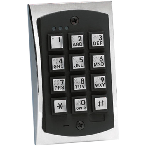 Linear PRO Access 2000eM Style Flush-mount Durable Metal Access Control Keypad Access Device