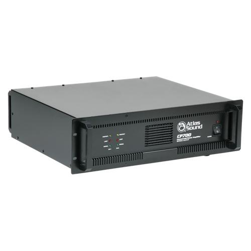 Atlas Sound CP700 Amplifier - 240 W RMS - 2 Channel - Black