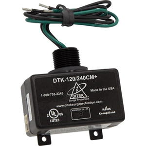 DITEK DTK-120/240CM Plus Surge Suppressor