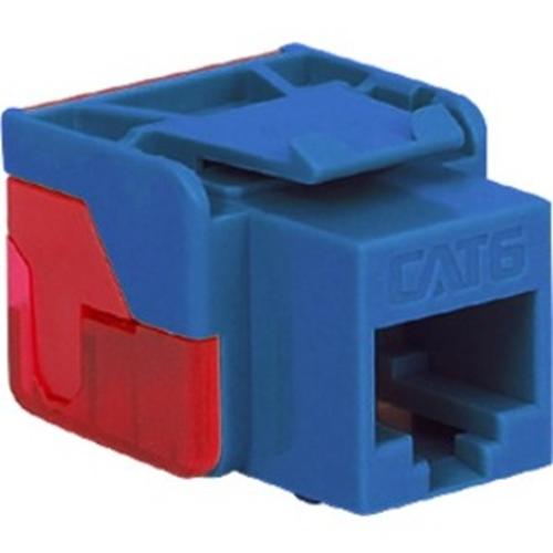 ICC Cat 6, EZ Modular Connector, Blue