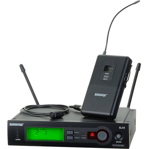 Shure SLX14/85 Wireless System with WL185 Lavalier Microphone