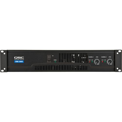 Contractor Power Amp, 2 Channel, 200W/ch @8ohm 300w/ch @ 4ohm, 70V/mono