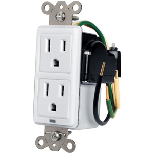 Panamax Max-In-Wall 15 Amp Duplex with Surge Protection